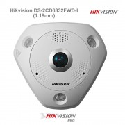 Hikvision DS-2CD6332FWD-I (1.19mm) 360° 3MPx