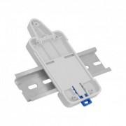 efectoled.com Kit montaje Interruptor WiFi en carril DIN SONOFF DR Gris