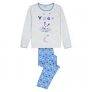 Minnie Mouse Pijama 5-12 anoscinzento/azul- 5 anos (108 cm)