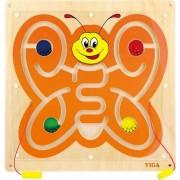 Viga masă din lemn de manipulare Butterfly magnetice