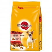 6x1,4kg Pedigree Adult Mini vaca e vegetais ração