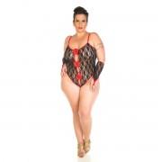 Body Espanhola Plus Size Pimenta Sexy - ShopSensual