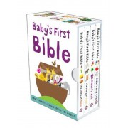 Baby's First Bible: The Story of Moses/Noah's Ark/The Story of Jesus/Adam and Eve, Hardcover