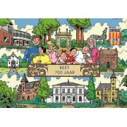 Puzzle PuzzelMan - Bob and Bobette: 700 years on Reet, 1.000 piese (43306)