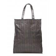 Mango Check Shopper Bag