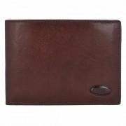 Bric's Monte Rosa Monedero RFID piel 12,5 cm marrón