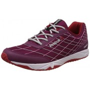 Reebok Women's Touch Sprint Pink, Silver and Red Running Shoes - 4 UK