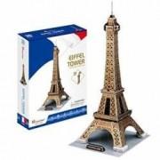 Turnul Eiffel Paris Franta - Puzzle 3D - 35 de piese