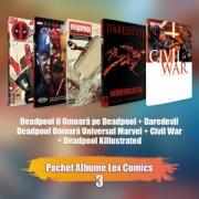 Pachet albume Lex Comics 3