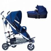Carucior copii 2 in 1 cadru aluminiu Buggster S Blue