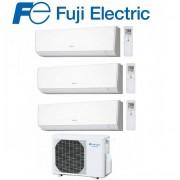 Fujifilm Climatizzatore Condizionatore Fuji Inverter Trial Split A Parete Serie Lm 7000+9000+9000 Con Rog24l