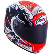 Suomy SR Sport New Dovi Replica Blue Casco Rojo/Negro/Blanco XXL (63/64)
