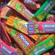 Haribo Maoam Stripes flavour sweets