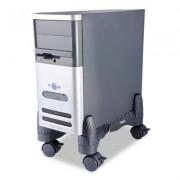 Mobile Cpu Stand, 4-1/2w X 16d X 7h, Black
