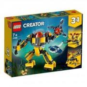 Конструктор Лего Криейтър - Подводен робот, LEGO Creator 31090