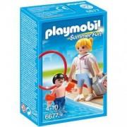Комплект Плеймобил 6677 - Спасител на басейн, Playmobil, 291220