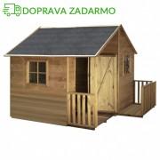 Drevený záhradný domček pre deti MARTIN