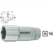 Hazet HAZET Inserto per chiave a bussola esagonale 880LG-10 . Attacco quadro, cavo, 10 mm (3/8 di pollice) . Profilo trazione esagono esterno . 10 mm 880LG-10