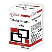 Tribulus Terrestris si Zinc Farma Class 30cps