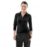 Chef Works Uniform Works dames T-shirt met V-hals zwart XL - XL