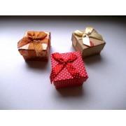 Cutie cadou mică pătrată