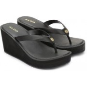 ALDO Women Black Wedges