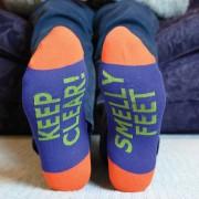 Sosete haioase Keep clear! Smelly feet
