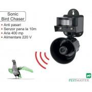 Aparat anti pasari Pestmaster Sonic Bird chaser, 400 mp, 120 dB