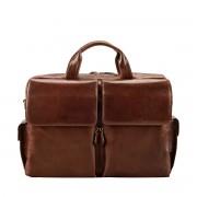 Herren Leder Laptoptasche in Braun - Aktenkoffer, Aktentasche, Businesstasche, Umhängetasche