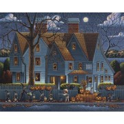Jigsaw Puzzle - House of Seven Gables 1000 Pc By Dowdle Folk Art
