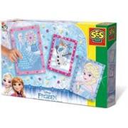 Ses Junior - Set Creativ Mozaic Cu Spuma - Disney Frozen