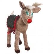 Rudolph, renna da collezione in lana fatta a mano
