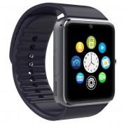 "Ceas Smartwatch cu Telefon IMK GT08, Camera 1,3 Mpx, Apelare BT, LCD Capacitiv 1.54"" Antizgarieturi, Slot Card, Negru"
