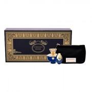 Versace Pour Femme Dylan Blue confezione regalo eau de parfum 100 ml + eau de parfum 10 ml + trousse donna