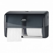 Pearl Line Black Duo Toiletrolhouder Compact Zwart