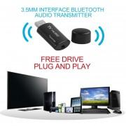 EB Transmisor De Audio Bluetooth USB Inalámbrico Adaptador De Dongle De La Caja De Música-negro