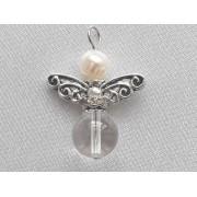 Gyöngyös angyal medál