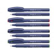 ROLLER SCHNEIDER TOPBALL 847, 0,5 mm verde Roller Plastic Fina albastru fara mecanism
