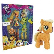 Maven Gifts: My Little Pony Equestria Girls Applejack Doll with Guitar with Applejack 6.5 Plush