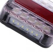ELECTROPRIME 2pcs Brake Stop Led Light Board 12V 5 Function for Trailer Van Caravan Truck