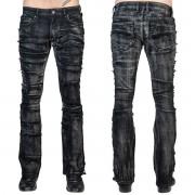 Muške hlače (traperice) WORNSTAR - Remnant - Black - WSGP-RMNT
