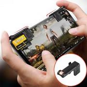 Ocamo Left Right Gaming Triggers Smartphones Game Shooter Controller No Block The Screen for PUBG (Black, XJSJDZ0622-LWCJ11)
