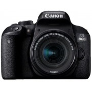 Aparat Foto DSLR Canon EOS 800D + Obiectiv EF-S 18-55mm, 24.2 MP, Full HD, Wi-Fi (Negru)