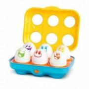Bright Starts-52125 Jucarie Put N Shake Eggs-Giggling Gourmet