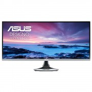 "Asus Designo Curved MX34VQ - Monitor 34"", UWQHD (3440x1440), VA , Harman Kardon speakers, Qi wireless charging, Flicker free"
