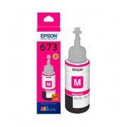Botella de tinta magenta Epson T673320 para L800