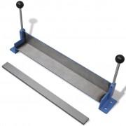 vidaXL Mașină de îndoire table din oțel cu acționare manuală, 450 mm