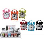 Mini ceas metalic cu alarma