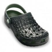 Crocs - Crocskin Classic Kids - Sandales de marche taille 21 / 22, noir/gris