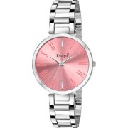 Evelyn Analog Pink Dial Women's Watches Eve-767